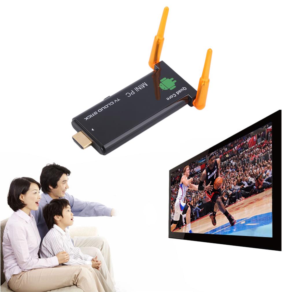 CX919 II RK3188 Quad Core Android 4.4 MINI PC Smart TV Box Dual WIFI TV Stick