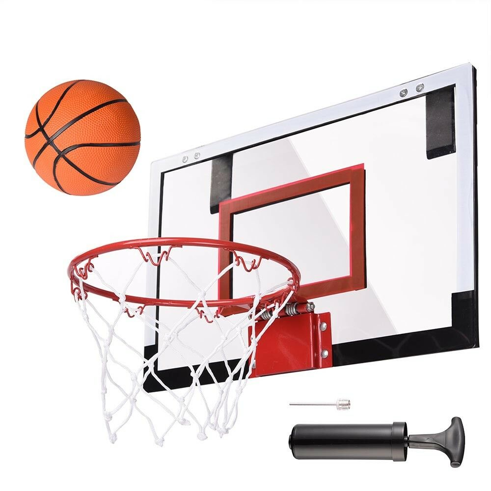Mini Basketball Hoop System Indoor Outdoor Home Office Wall Basketball Net Goal