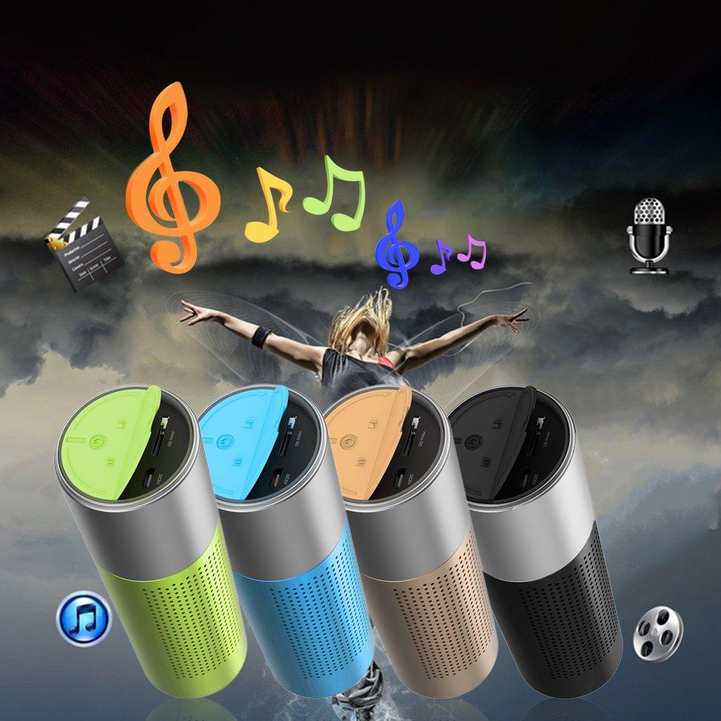 Multifunction Wireless Bluetooth 3.0 Speaker Handsfree FM Music Flashlight