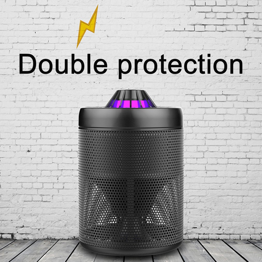USB Powered LED Light Electric Mosquito Killer Zapper Flies Catcher Trap Lamp