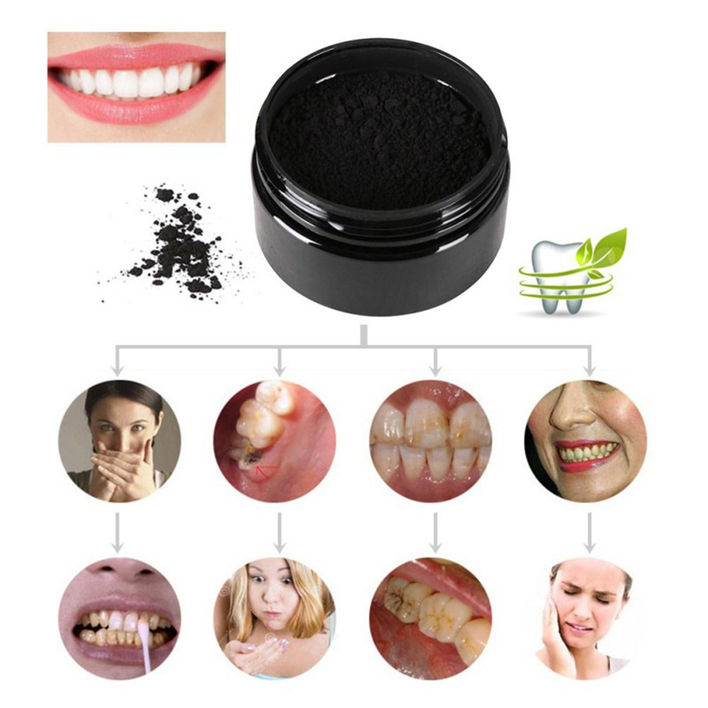 Cocoanut Active Charcoal Whiten Teeth Powder Toothpaste And Toothbrush Set