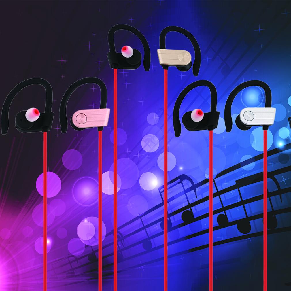Portable Wireless Bluetooth Noise Cancelling Earphones Handfree Earphone