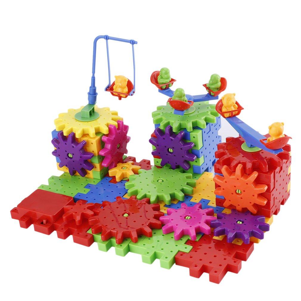 81 pcs Electric Variety Blocks Puzzle Toys Building Blocks Bricks Kids Toys
