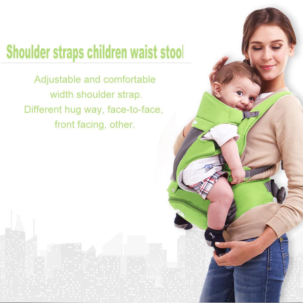 Multifunctional 3 In 1 Newborn Baby Waist Stool Shoulder Straps Baby Sling