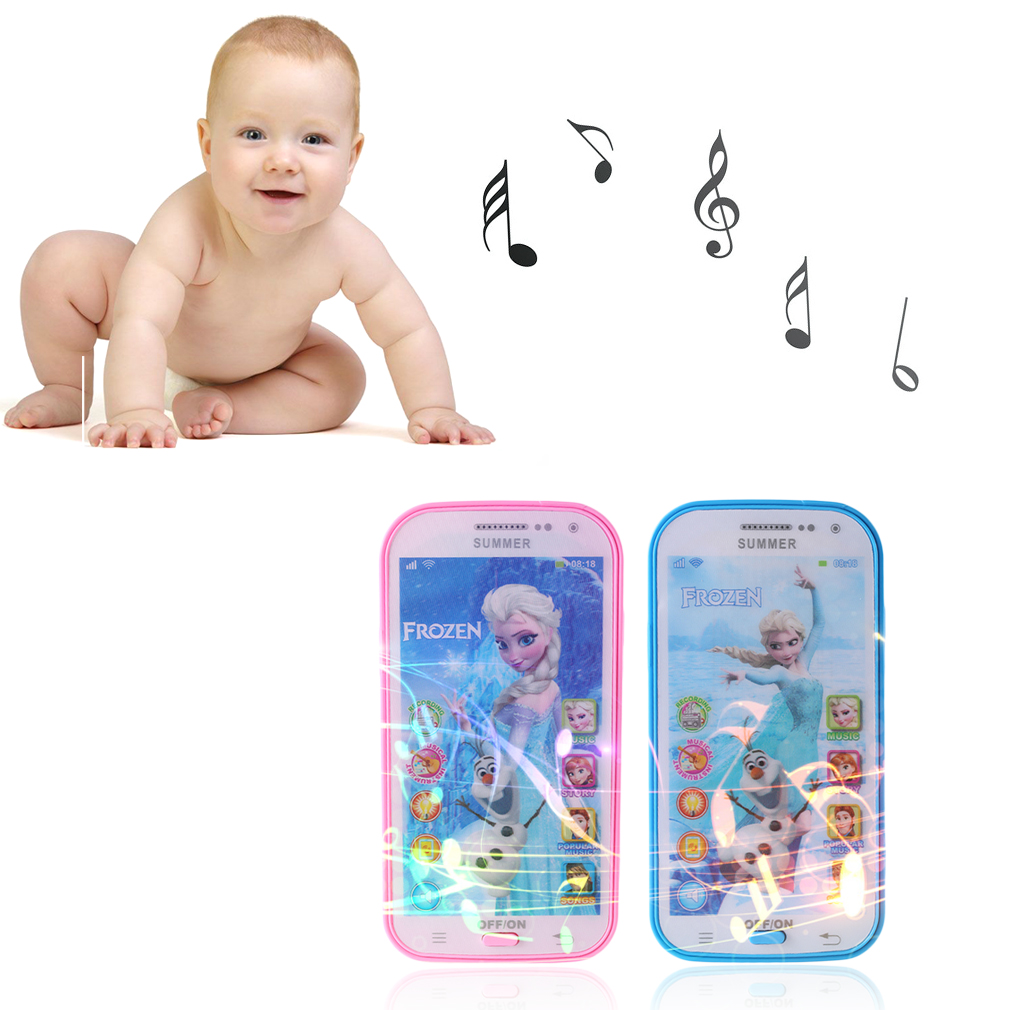 Learning & Educational Baby Mobile Phone Electronic Children Kids Toys