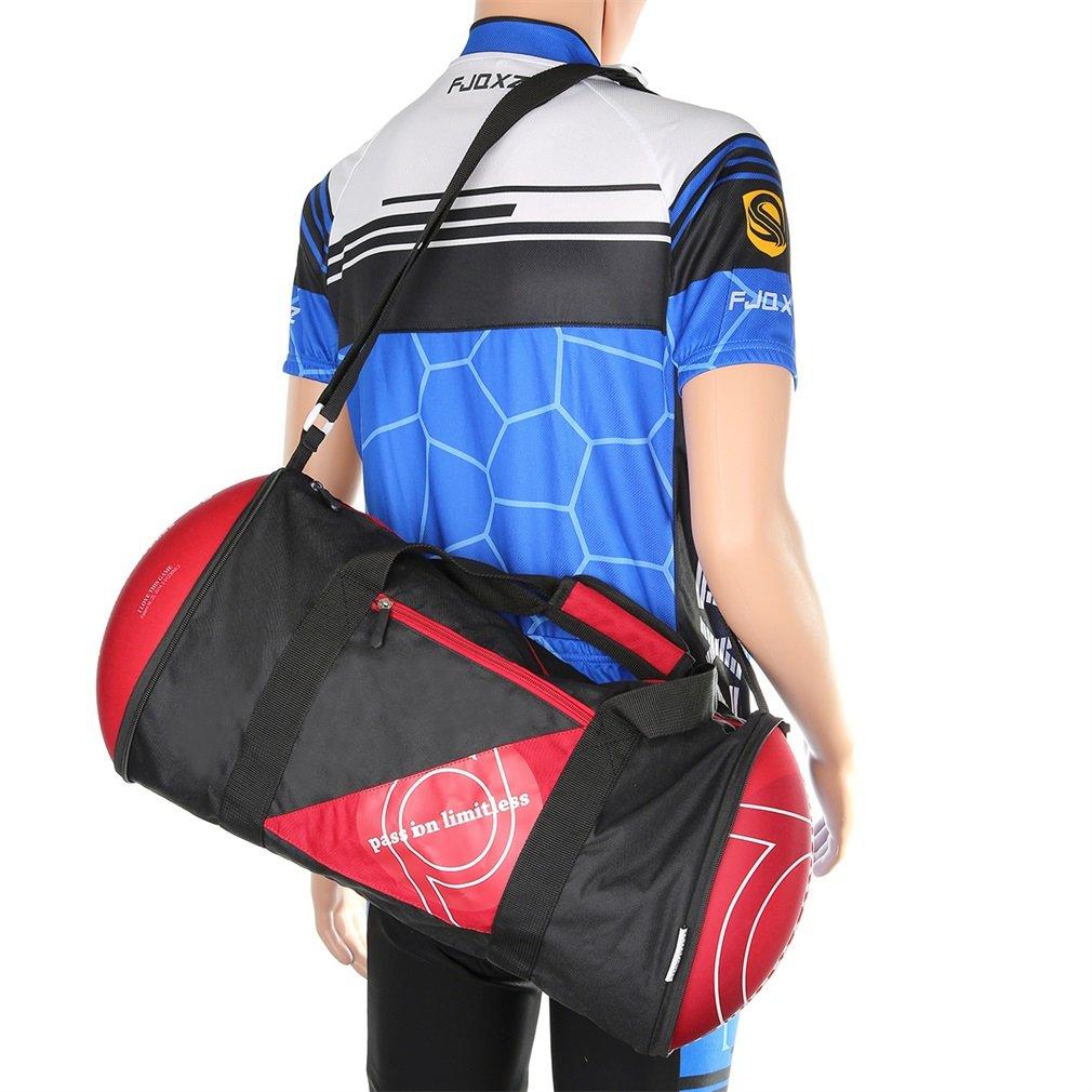 Unisex Football Shape Gym Sport Duffel Bag Travel Vacation Home Outdoor New