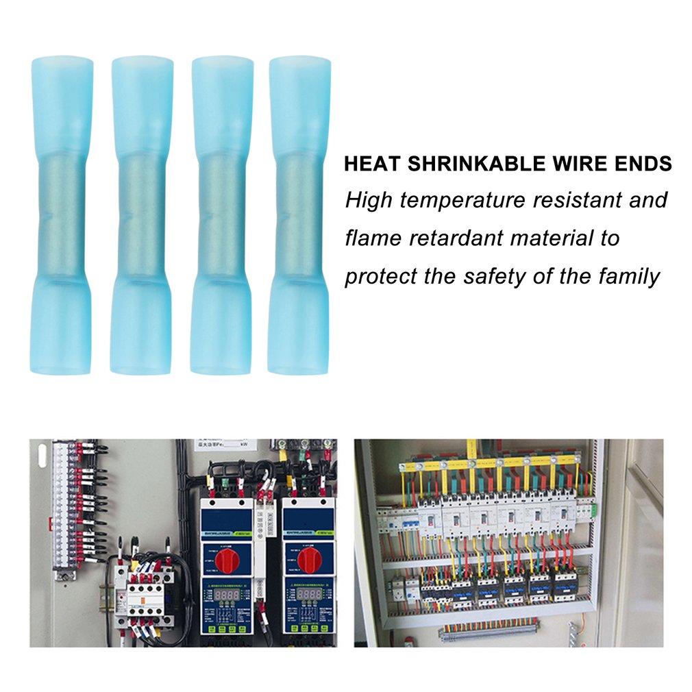 108PCS Heat Shrinkable Terminals Has High Conductive Seamless Copper Terminal