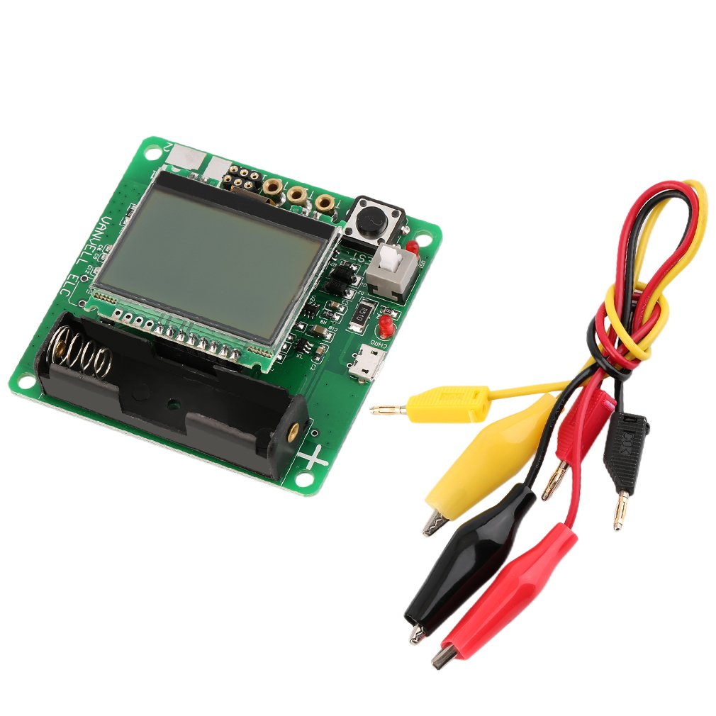 M328 LCD Transistor Tester Diode Capacitance Inductor ESR LCR Meter TS-M528