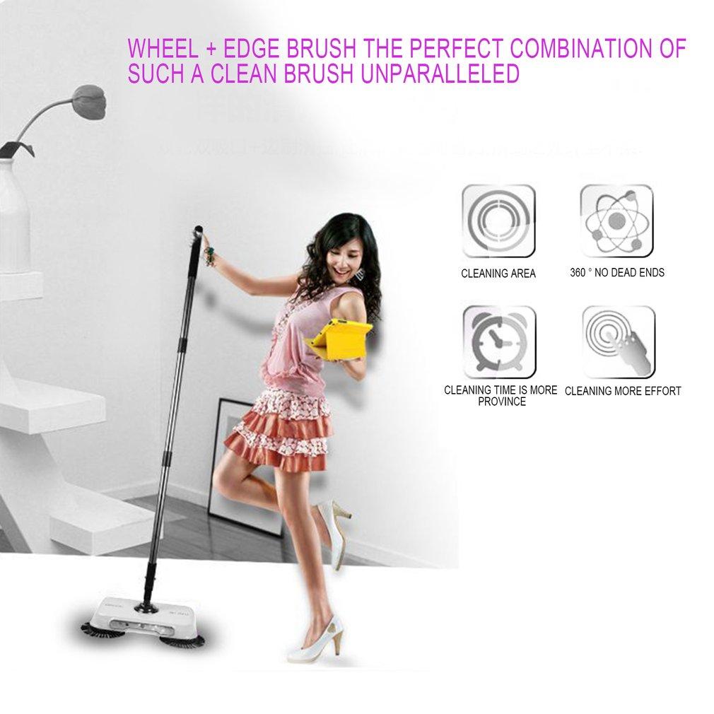 Whirlwind Sweep Hand Push Floor Sweeper Not Need Battery Retractable Rod