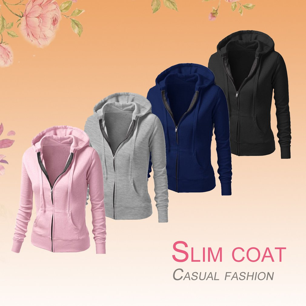 Fashionable Slim Women Summer Running Jacket Casual Long Sleeve Design Zip Hoodie Sport Female Outerwear Coat