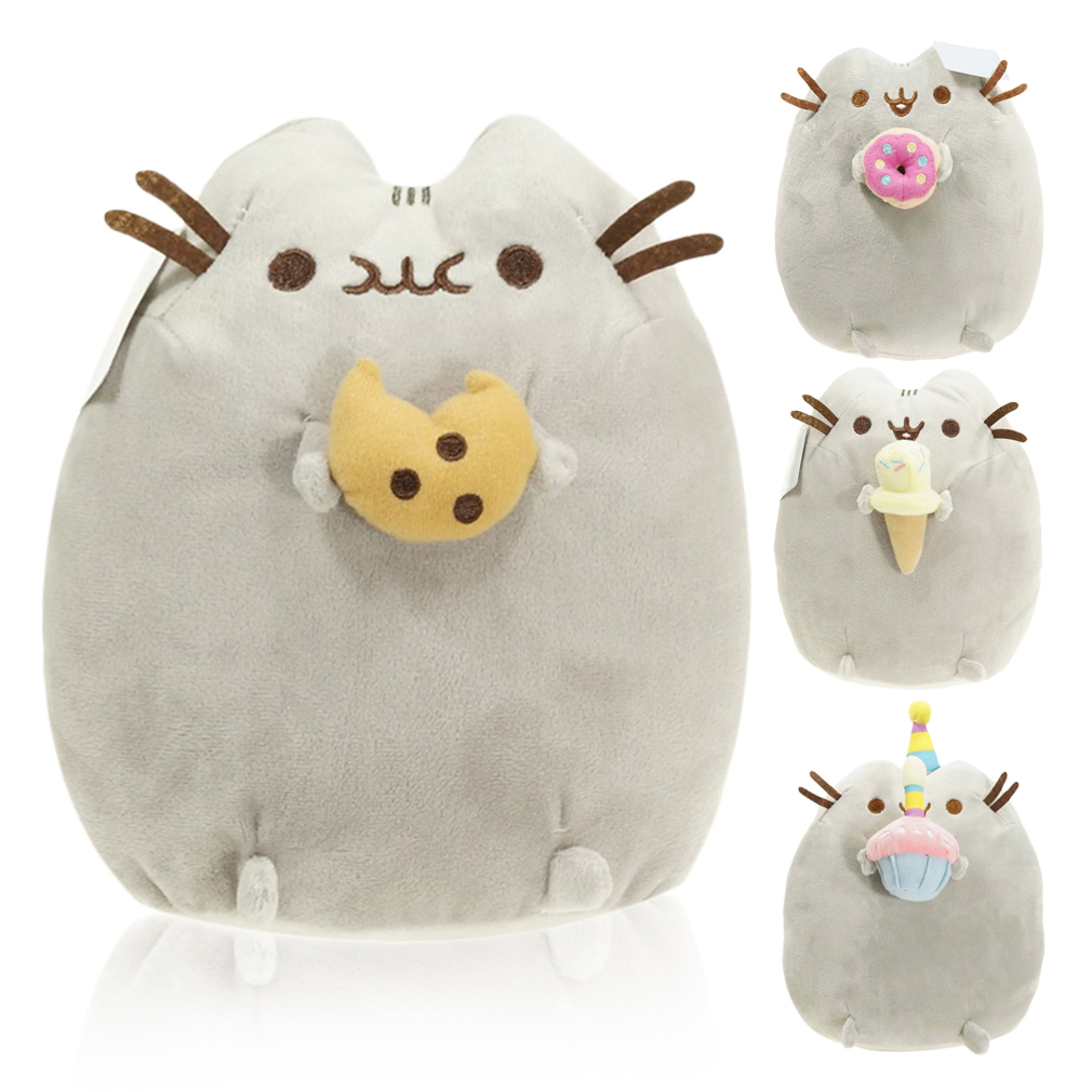 Children Safe Healthy Lovely Cat Cookie Stuffed Plush Animals Toys Gifts