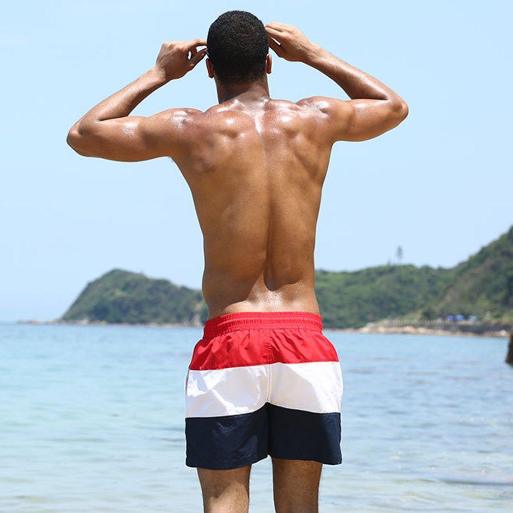 Men Quick Drying Summer Beach Shorts Athletic Running Gym Swimwear Shorts