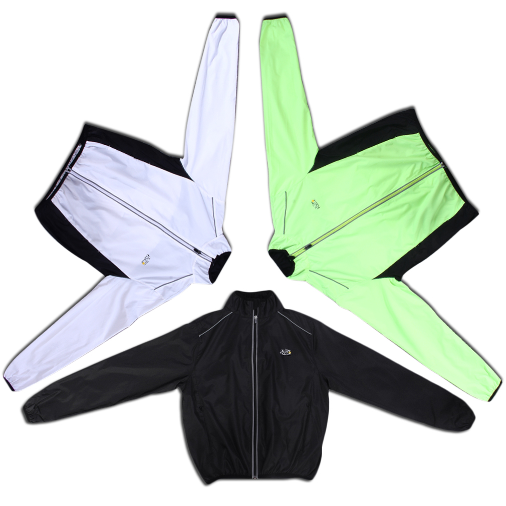 New Bicycle Bike Running Riding Outdoor Jacket Windproof Water Resistant