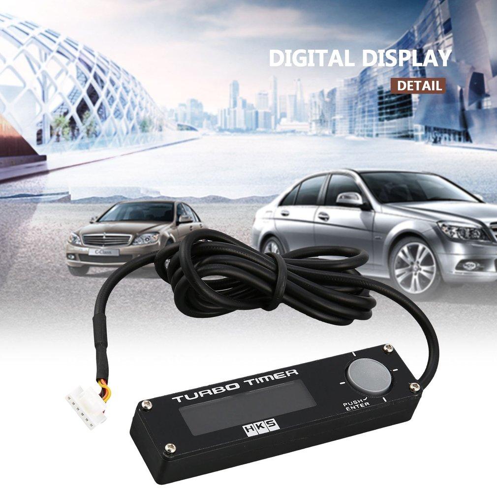 DC 12V Universal Digital Car Turbo Timer LED Display Boost Timer Controller