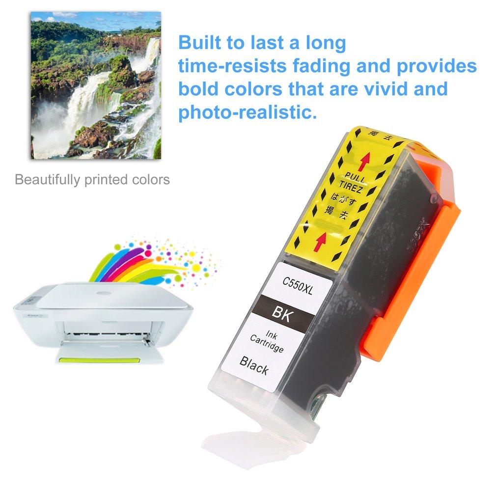 ZSMC PGI-550 CLI-551 Ink Jet Cartridge for Canon for Pixma ip7250 Non-OEM
