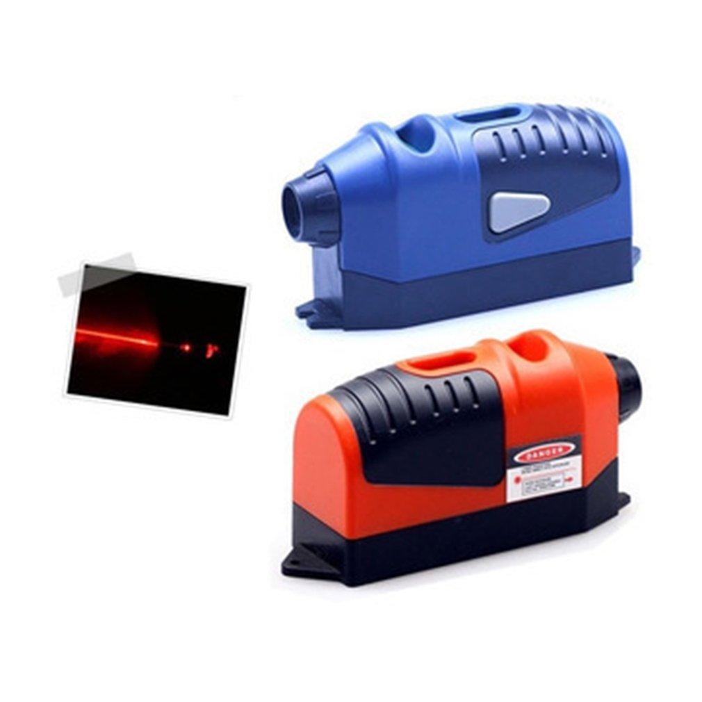 Mini Infrared Laser Level Meter Cross Line Laser Tape 2.5 Meters Hand Tools