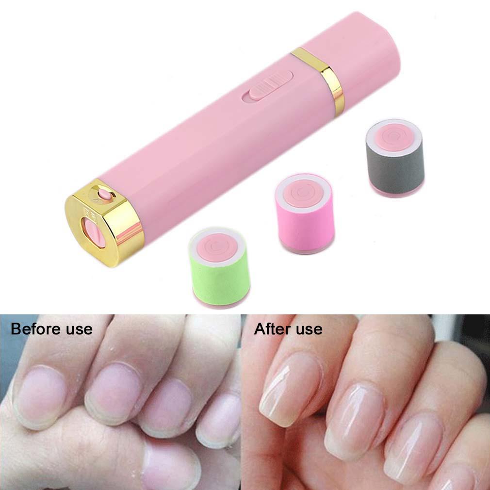 Mini Electric Nail Art Manicure Set Tools Portable Nail Care Ponishing Machine
