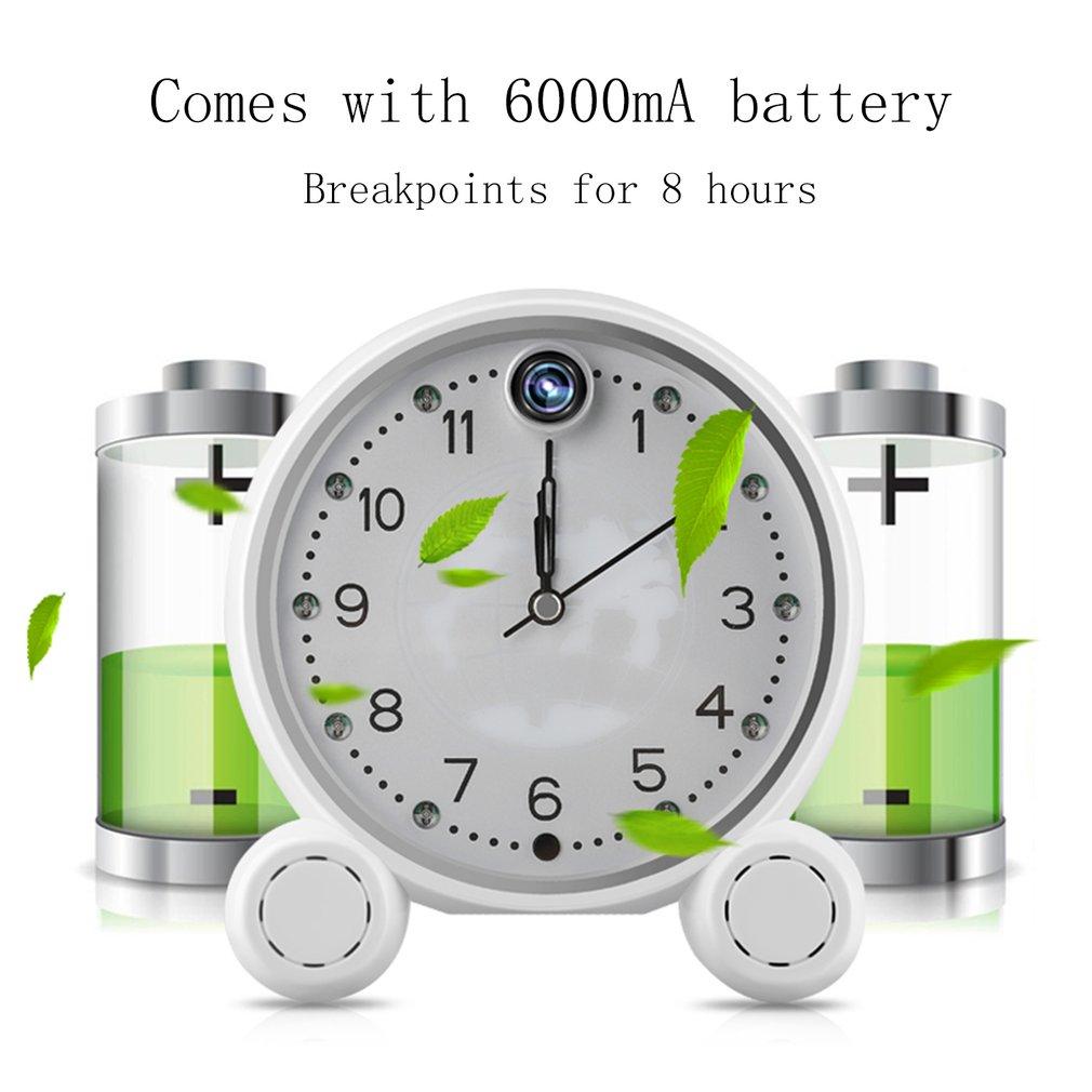 Clock Remote Control Alarm 960P Cloud Storage WIFI Camera Motion Detection