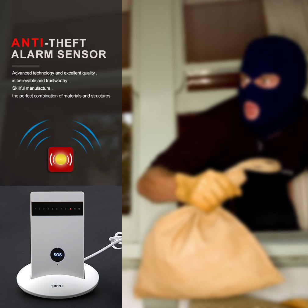 Wireless Alarm Systems Security Home Burglar Alarm System Android IOS APP
