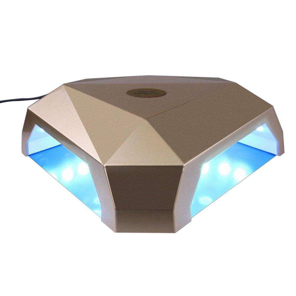 Diamond-shape Nail Polish Art Tools UV LED Phototherapy Manicure Machine
