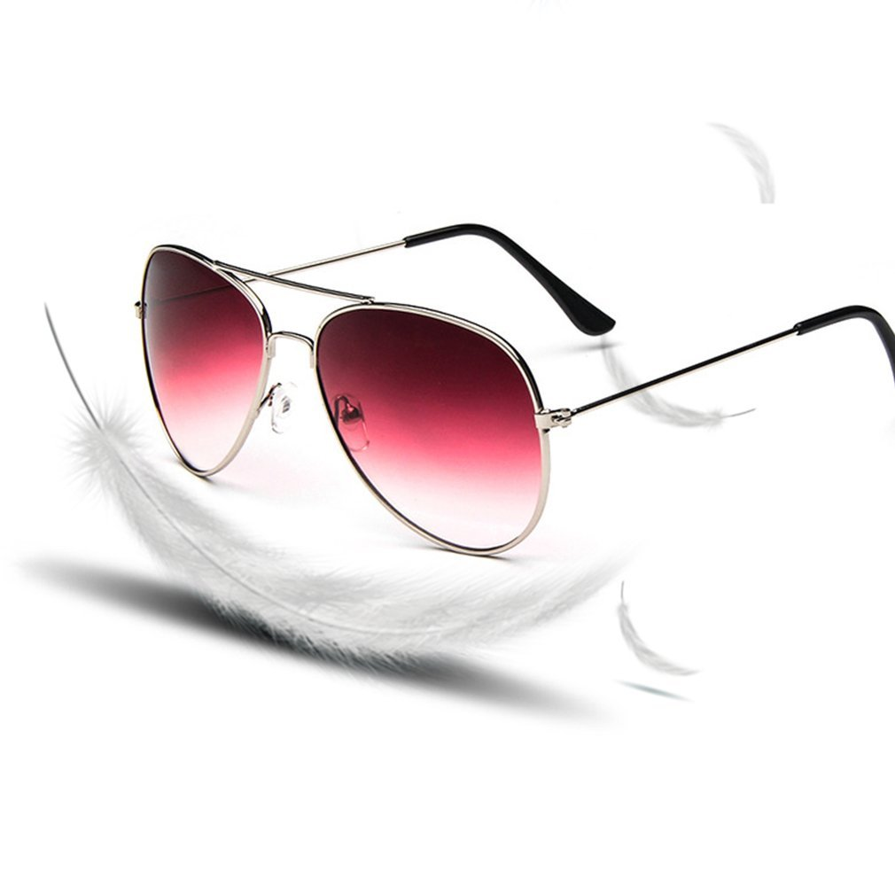 Fashion Sunglasses Alloy Frame Anti Ultraviolet Popular Oversize Sun Glasses Woman Man Unisex Eyewear For Summer Travel