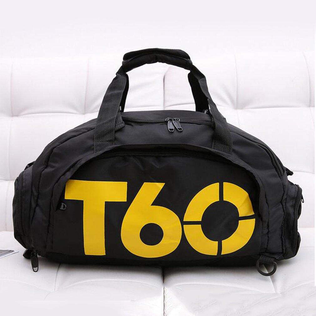 Multifunction Handbag Oxford Backpack Shoulder Bag Travel Training Fitness Bag