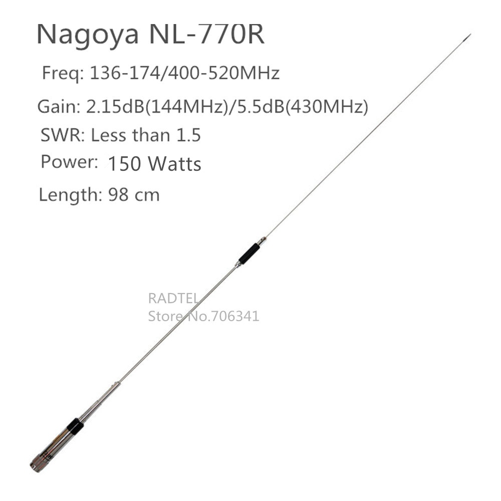 Dual band Mobile radio NL770R for QYT KT-8900 KT8900 KT890D KT-8900D BAOJIE BJ-218 BJ218 ZASTON MP320 NAGOYA NL-770R Antenna