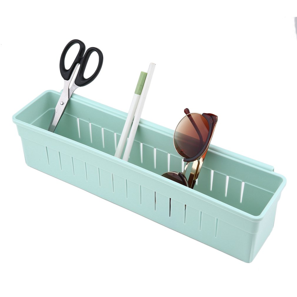 Narrow Type PP Plastic Waterproof Adjustable Drawer Storage Divide Box Tool