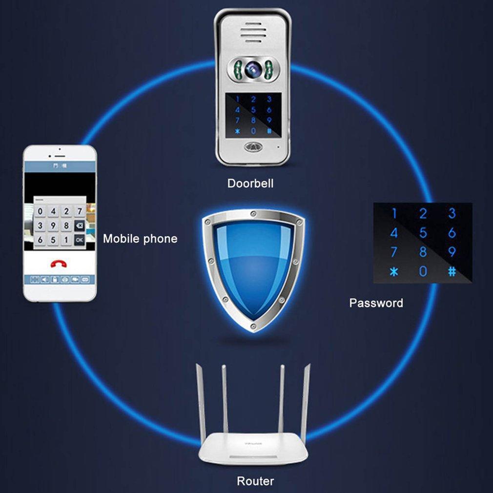 WIFI Video Doorbell Wireless Calling Device Infrared Night Vision Sensor