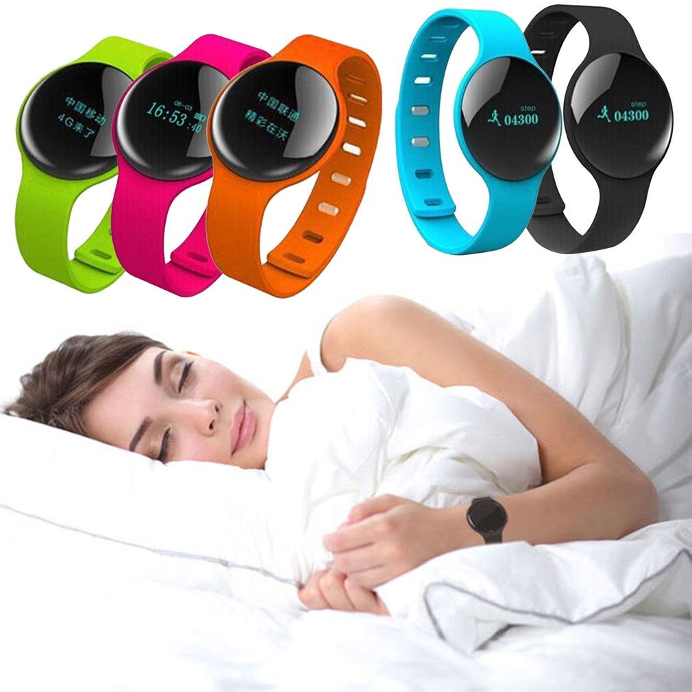 Trendy Style Bluetooth 4.0 Low Power Smart Heart Rate Bracelets For H8