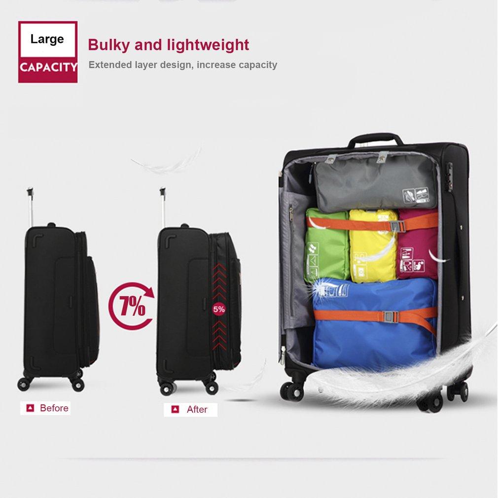 OIWAS OCX6179 20 inch Suitcase Spinner Wheel Customs Lock Trolley Travel Bag
