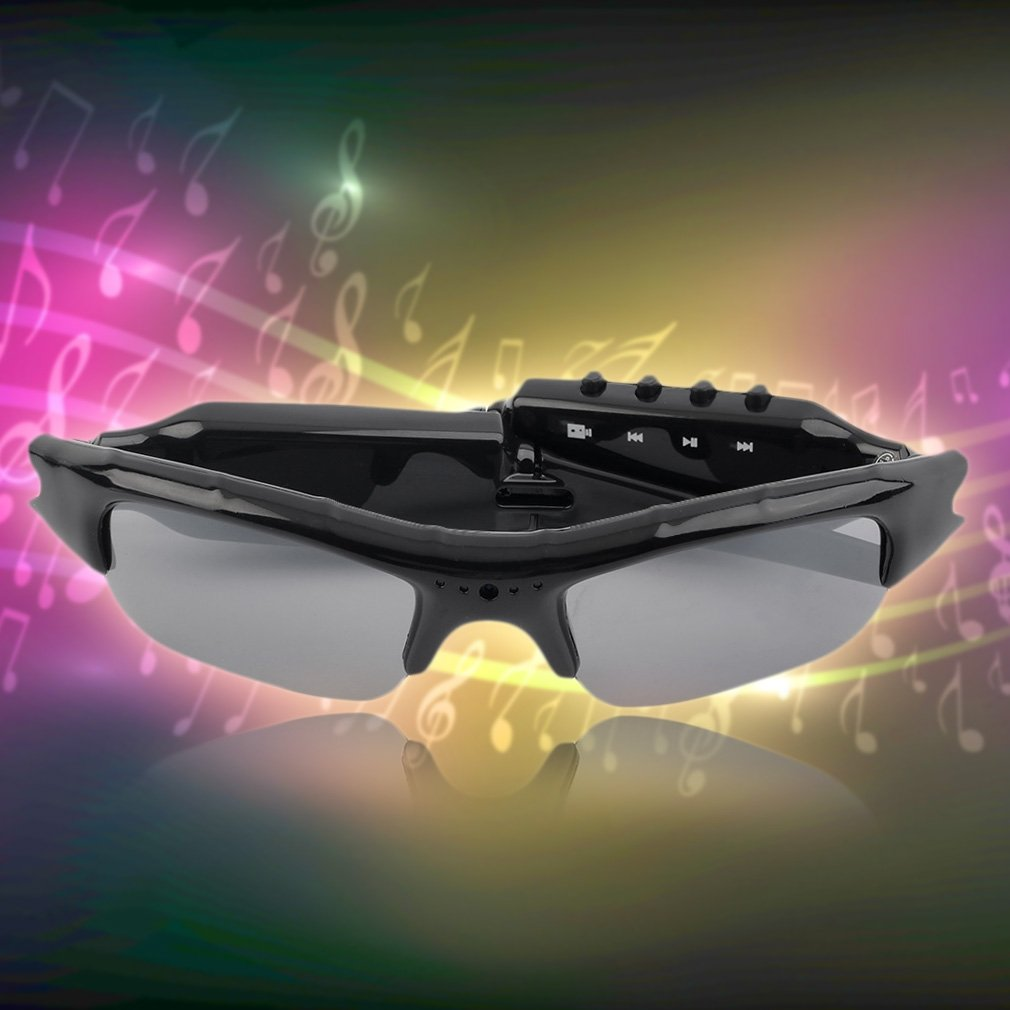 720x480 HD Video Recorfing Camera Sunglasses with MP3 Player Eyewear Glasses