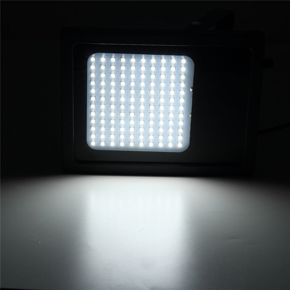 Remote Control Courtyard Lamp 120 LED Solar Garden Light Outdoor Flood Light