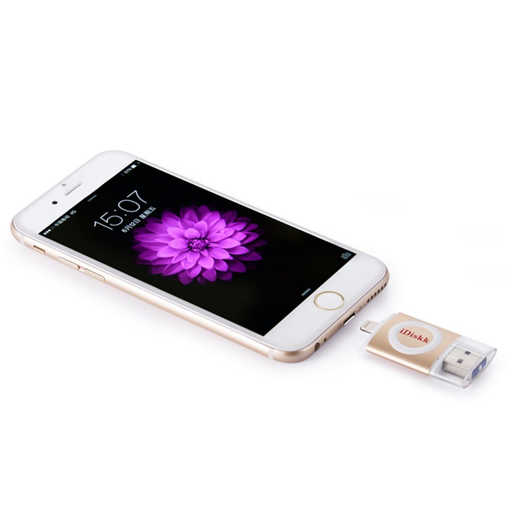 16GB USB 3.0 Drive 8-Pin Lightning Connector External Memory for iPhone6