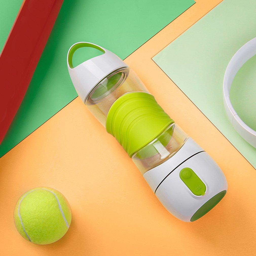 BPA Free Sport Smart Reminder Water Bottle Mist Sprayer with SOS LED Light