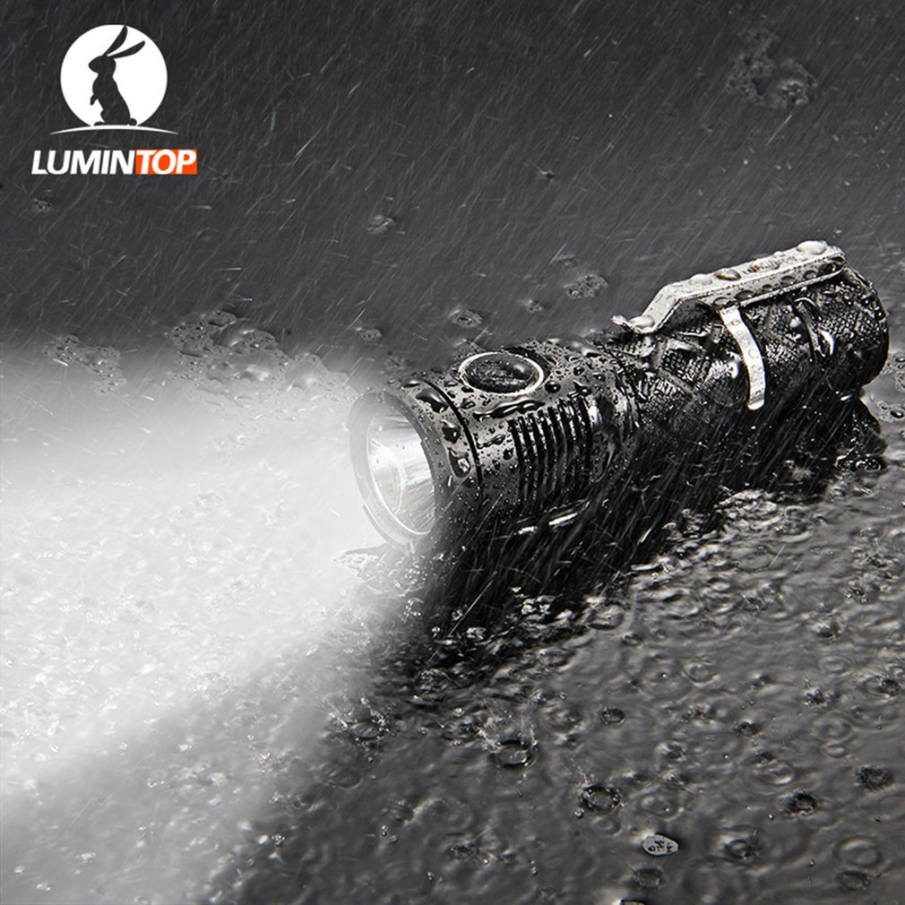 LUMINTOP SDMINI Super Bright 920LM Rechargeable Emergency Tactical Flashlight