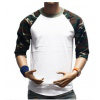 Seven-sleeve camouflage T-shirt