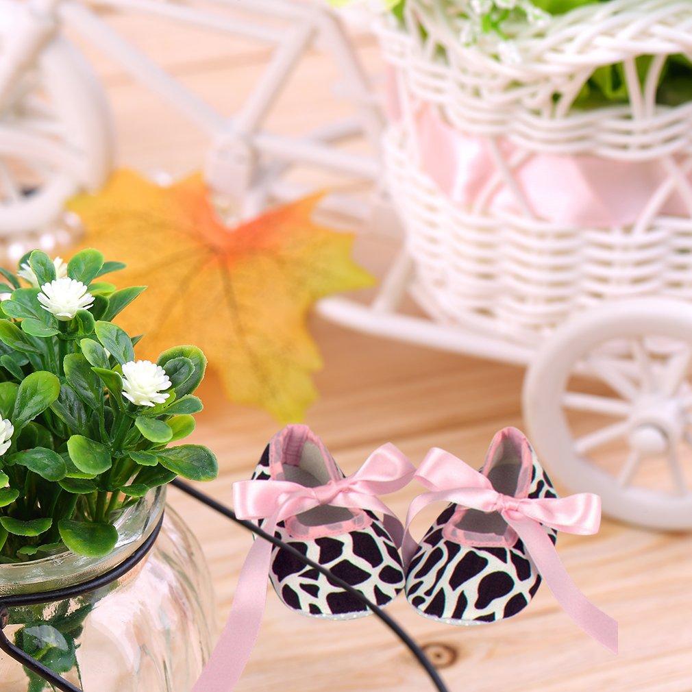 Korean Style Tie Lace Cotton Flower Pattern Babies Toddler Shoes