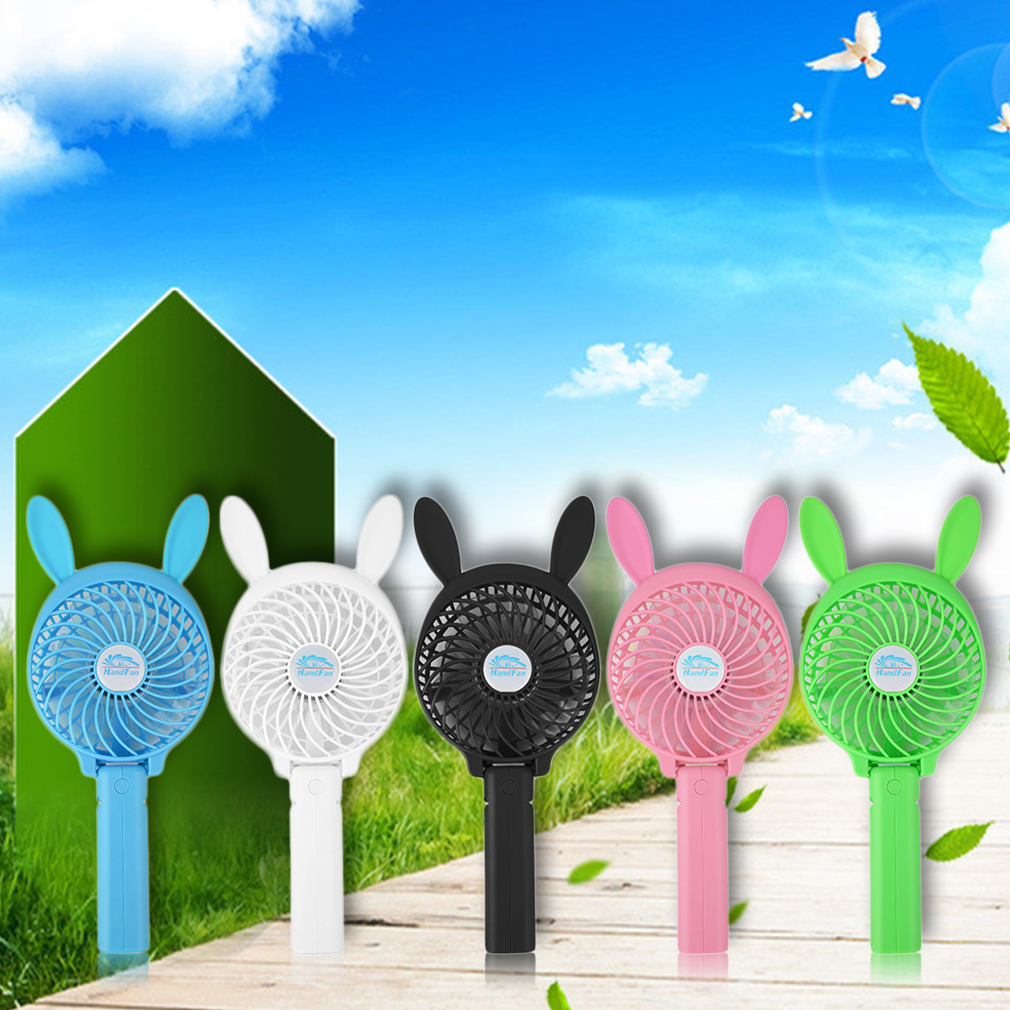 3 Gear Speed USB handheld Battery Rechargeable Multifunctional Fan HF-3091