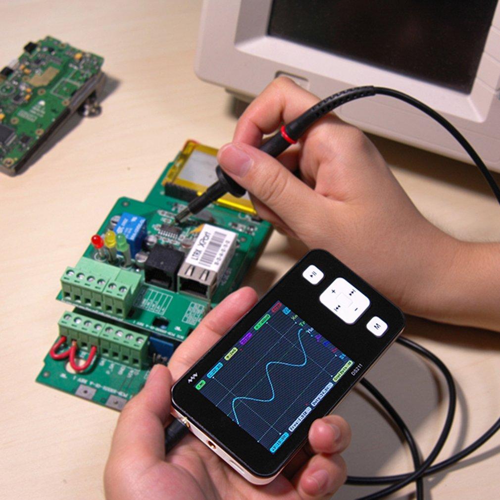 Mini 2.8 Inch TFT LCD Screen Display Digital Storage Oscilloscope DS211
