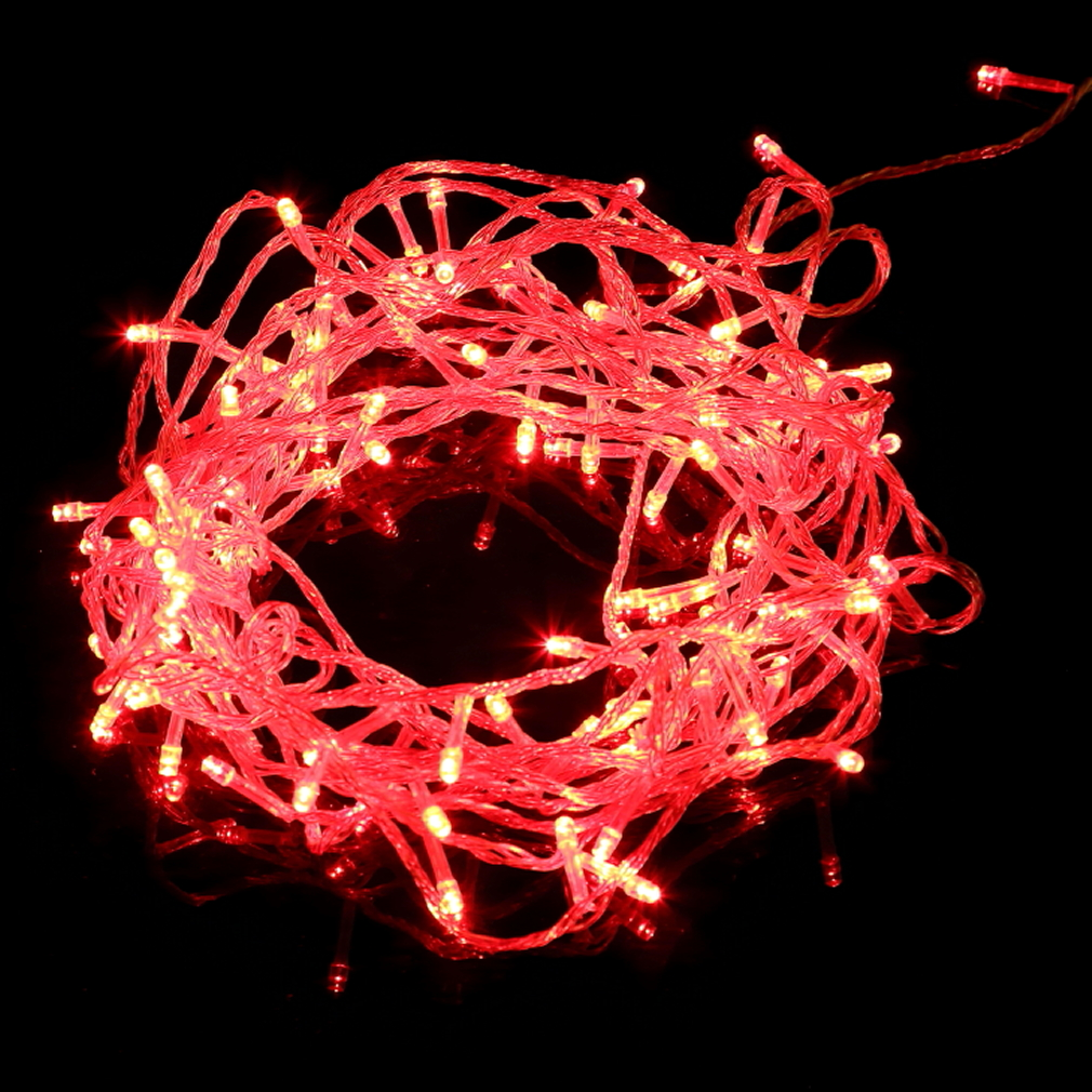100 LED String Fairy Lights for Christmas Party USA