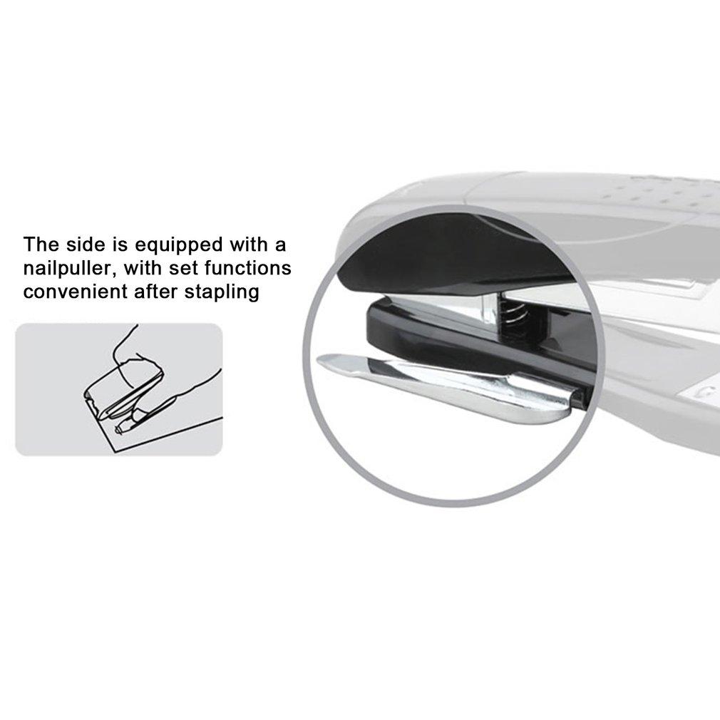 DELI 0326 12# Office School Metal Stapler Bookbinding Stapling Papers Stapler