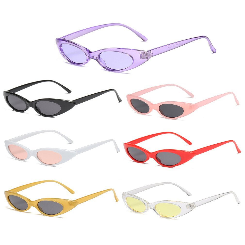 Lightweight Vintage Women Sunglasses Cat's Eye Eyewear Sunglasses Female Ladies UV400 Protective Sun Glasses