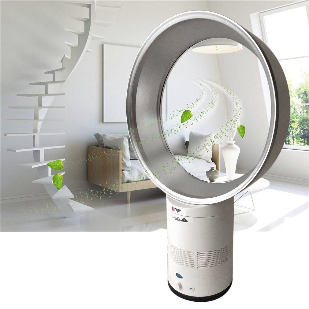 Portable 12-Inch Bladeless Fan Kids Safe Summer Cooling Fan For Home Office