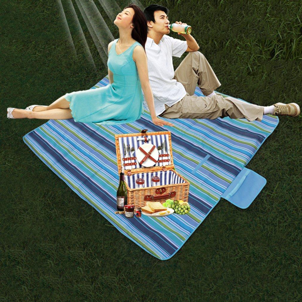 145*150cm Outdoor Pad Camping Picnic Mat Foldable Beach Mat Garden Blanket