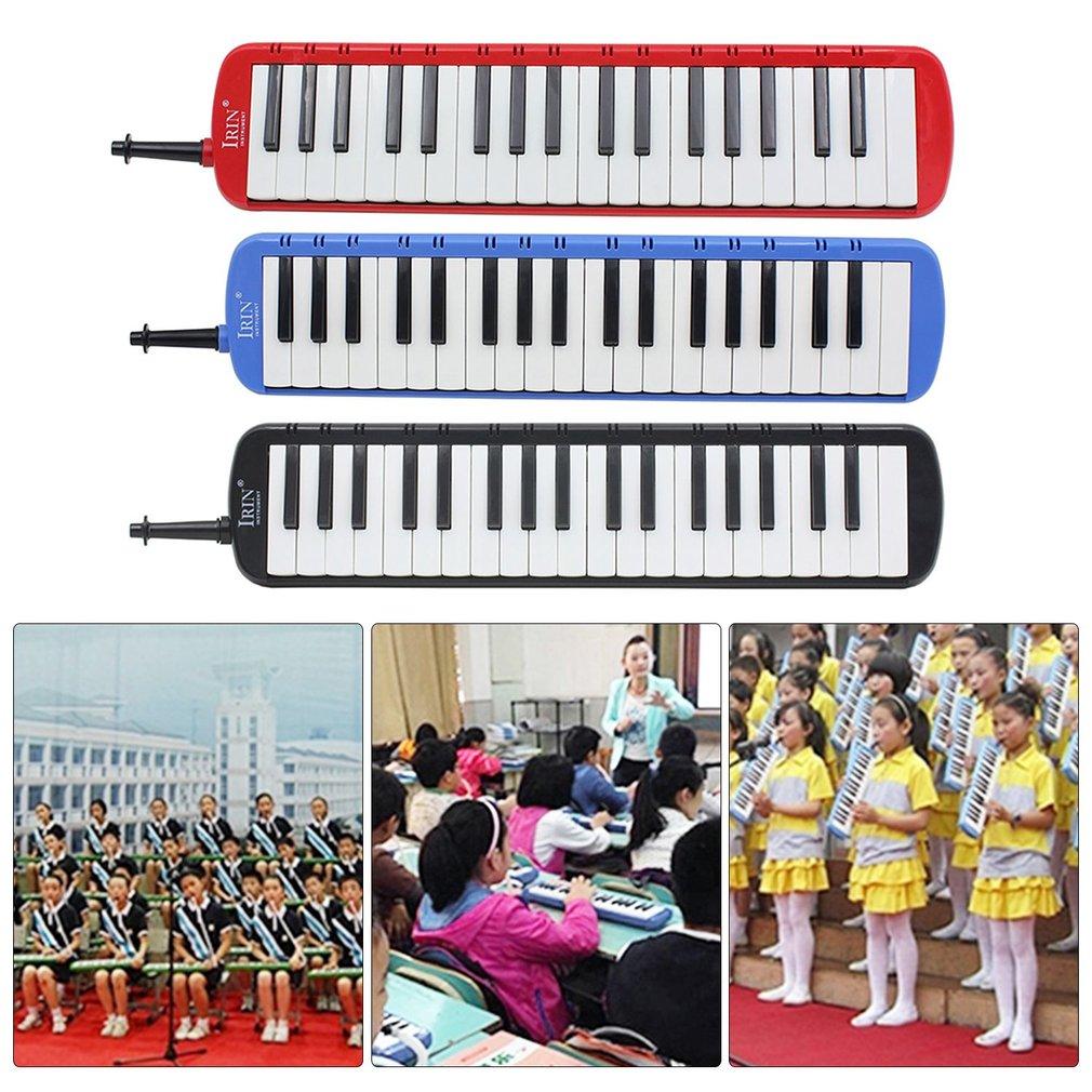 IRIN 37 Piano Style Keys Melodica Children Students Musical Instrument Harmonica Mouth Organ Portable Harmonica Pianica