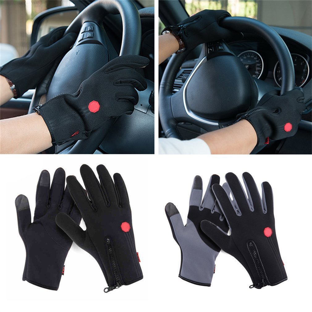New Outdoor Sports Cycling Skidproof Windprood Gloves Full Finger S-XL