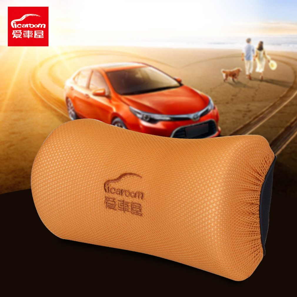 ICAROOM I-601MS Breathable Space Cotton Pillow Neck Waist Car Soft Support