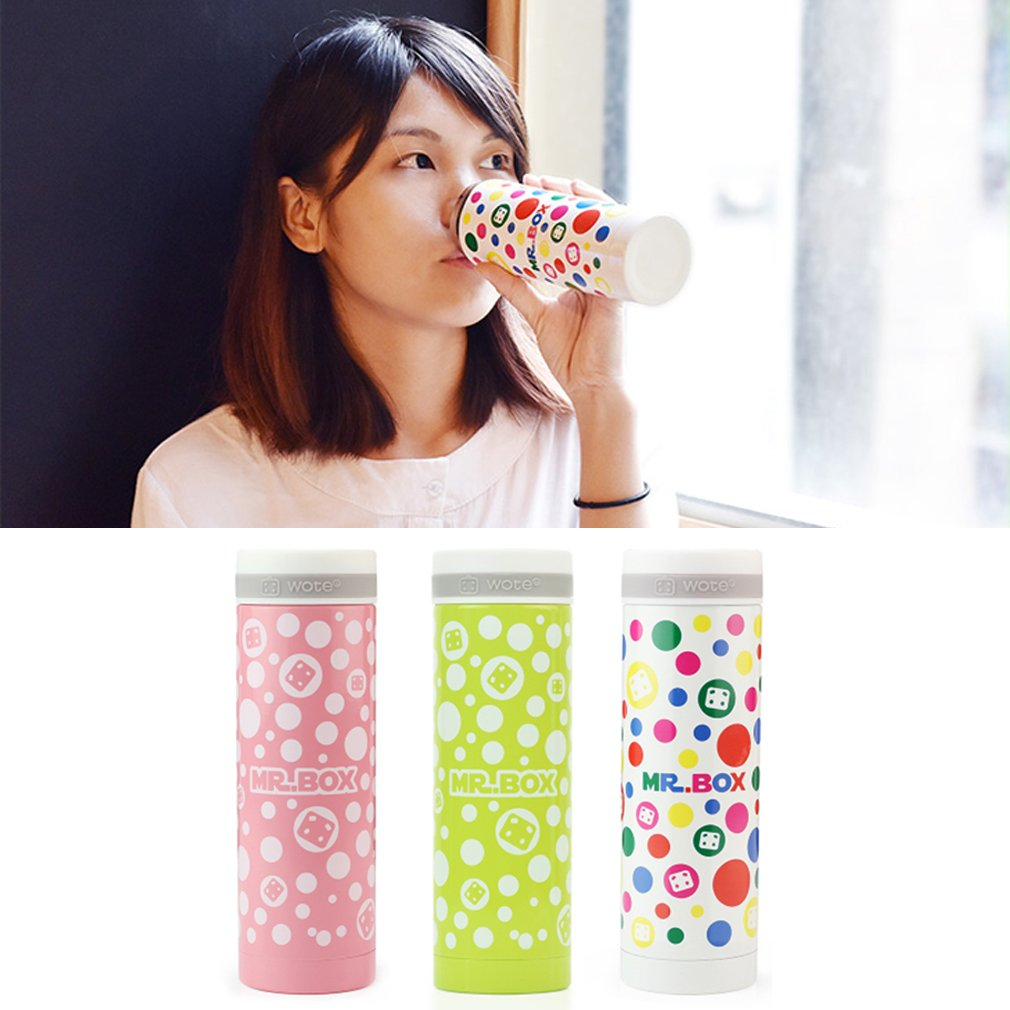 Cute Mini Office Home Vacuum Cup Insulation Cup Couples Cup Ladies Cup 300ML