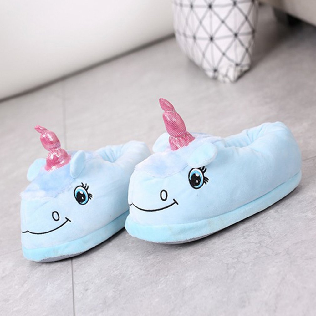 Spring Autumn Winter Unisex Comfortable Sheep Slippers Whole Covered Shoes